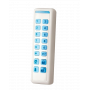 Clavier intérieur Risco Slim Blanc avec lecteur de TAG – Bidirectionnel