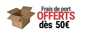 Livraison offerte dès 50€